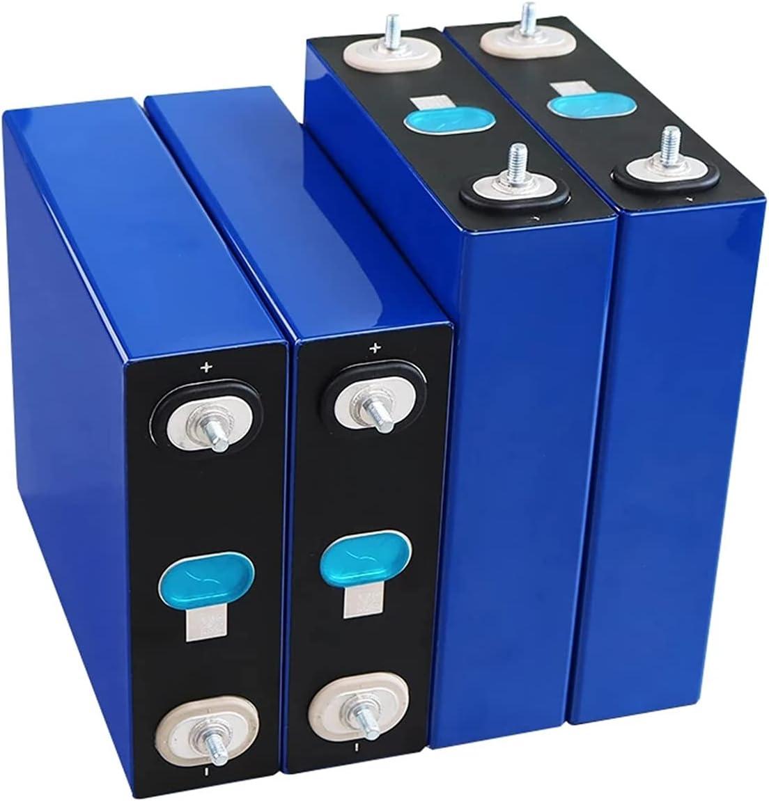 OANCO Paquete De Batería LiFePO4 De 4Uds 3,2V 230Ah,Baterías De Inversor Solar De Coche Eléctrico De Motocicleta De Fosfa De Hierro De Litio De 12V 230A
