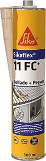 Sikaflex 11 FC+, Adhesivo multiusos y sellador de juntas elástico, Beige, 300ml
