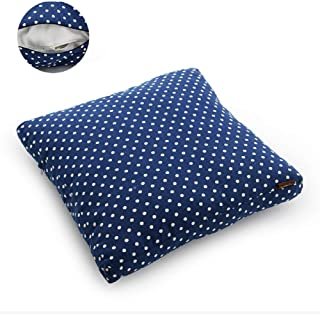 JYTT Flannel Canvas Padded Cushion Floor Seat Pad Lazy Chair Cushion Fluffy Comfortable Thickened Pastoral Cloth Pad Outdoor Office Chair Not-Slip Printed All Seasons Cotton-e 40x40cm(16x16inch)