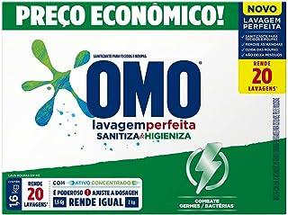Sanitizante Omo Lavagem Perfeita Sanitiza & Higieniza 1.6kg