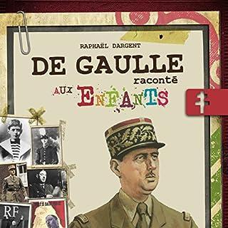 Couverture de De Gaulle raconté aux enfants