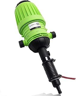 NEWTRY 0.2%-2% Fertilizer Injector Dispenser Drip Irrigation Water Powered Doser Dosing Pump for Garden Livestock Farm Ind...