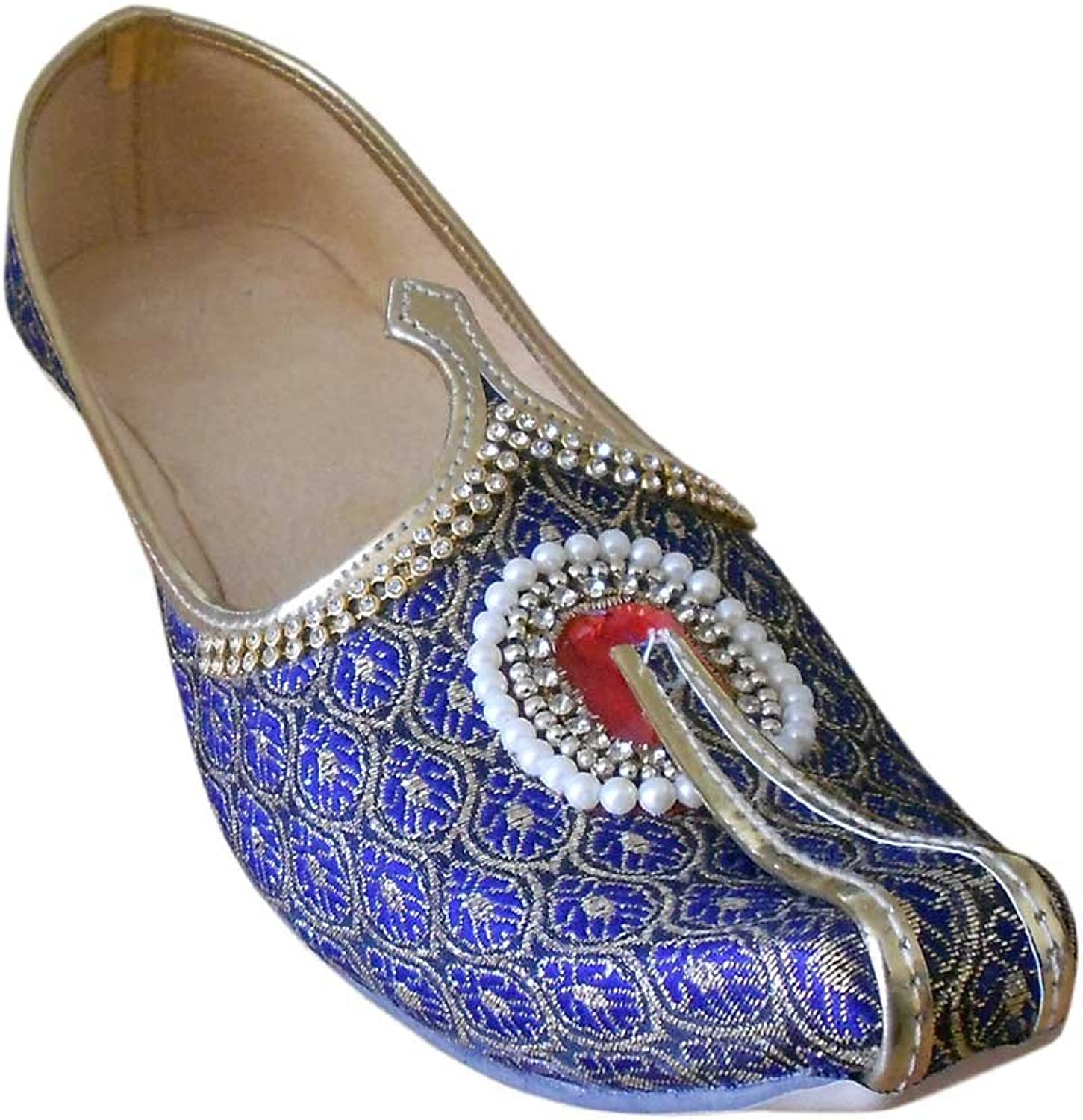 Kalra Creations Men's Jutti Traditional Indian Ethnic Wedding shoes