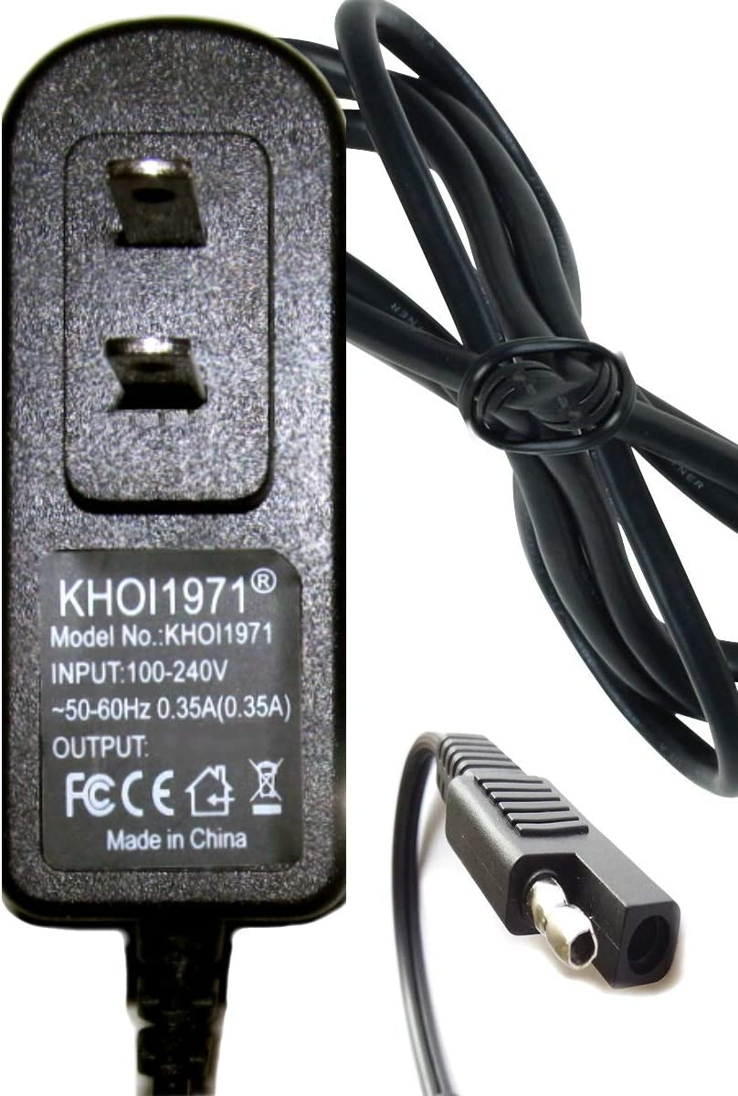 KHOI1971 Wall Charger AC Adapter Compatible with Marvel Avenger Captain America Power Quad Ride on Wheel KT1220WM 6V Battery Charger AC Adapter NOT Created or Sold by Marvel