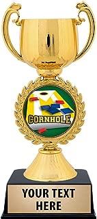Crown Awards Personalized Cornhole Trophy, 7.25