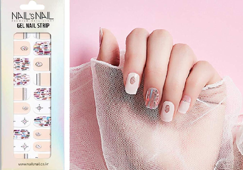 取る頭痛核\貼るジェルネイル/Nail's Nail(ネイルスネイル) ジェルネイルストリップ 105