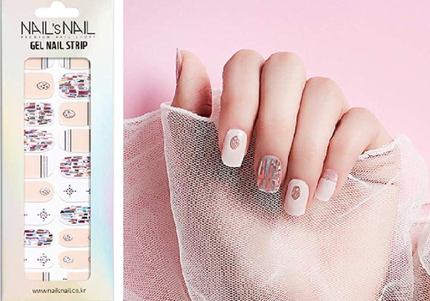ビジター怪物妨げる\貼るジェルネイル/Nail's Nail(ネイルスネイル) ジェルネイルストリップ 105