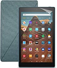 Fire HD 10 Tablet (64 GB, Twilight Blue, With Special Offers) + Amazon Standing Case (Twilight Blue) + Nupro Screen Protec...
