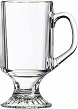 Arc International Luminarc Irish Footed Mug, 10-Ounce, Set of 4