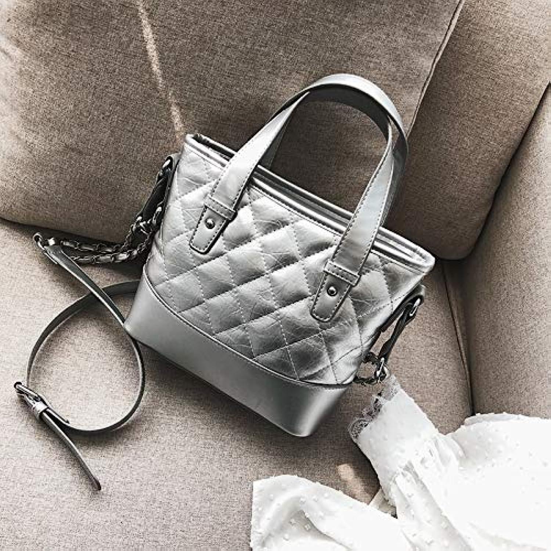 WANGZHAO Handbag, Shoulder Bag, Cross Bag, Female Bag, Rhombus, Chain Bag, Fashion Bag, and Women.