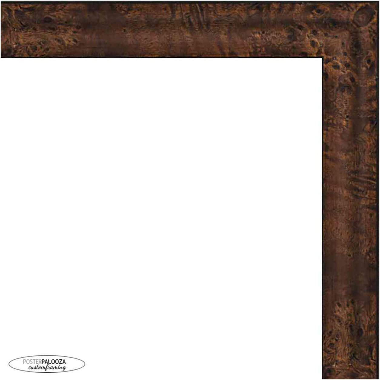 Poster Palooza 20x15 Traditional 2021 Walnut Max 54% OFF Picture Wood Complete Fr