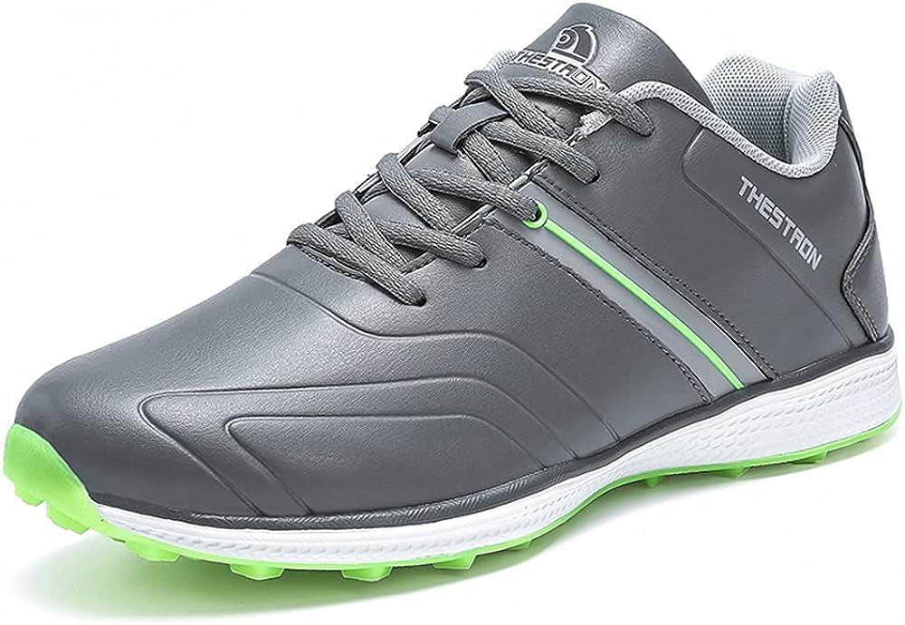 Waterproof Golf Shoes Colorado Springs Mall Men New popularity Sneakers Professional Li Spikless