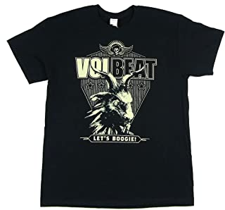 Volbeat Let's Boogie Black T Shirt