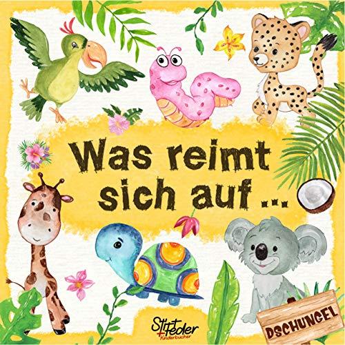 Was reimt sich auf...: Ein liebevoll gestaltetes Such-Buch für Kinder ab 2 Jahren