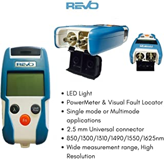 Optical Power Meter (Mini) & Visual Fault Locator, Range -50 dBm ~ +26 dBm, Handheld & Compact