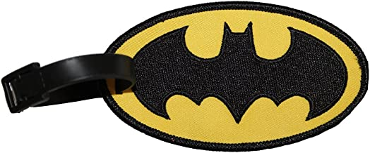 Luggage Tag Dc Comics Batman Logo Novelty