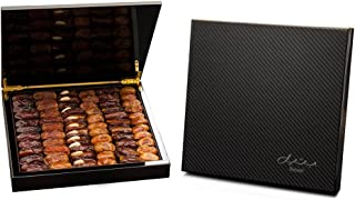 Carbon Fiber Gift Box with Gourmet Stuffed Dates (70 Pieces)