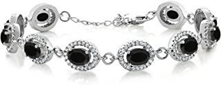 Best sterling silver black onyx bracelet Reviews