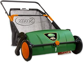 Scotts LSW70026S Push Lawn Sweeper, 26-Inch Sweeping Width, 3.6 Bushel Collection Bag