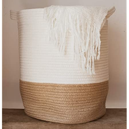 Large Woven Feature Cushion