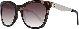 Guess Wayfarer Women's Sunglasses, Tortoise with Brown Lenses GG1155 52F