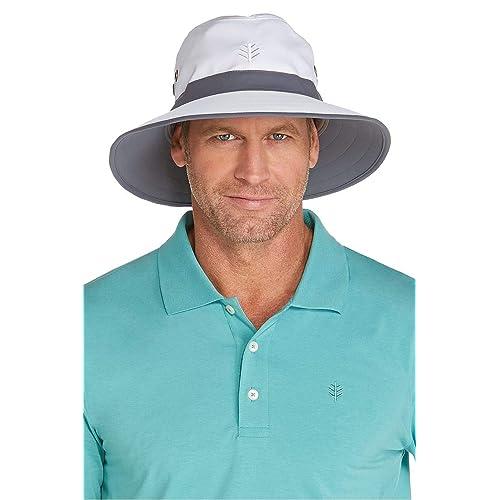 1851a438cef Coolibar UPF 50+ Men s Women s Matchplay Golf Hat - Sun Protective