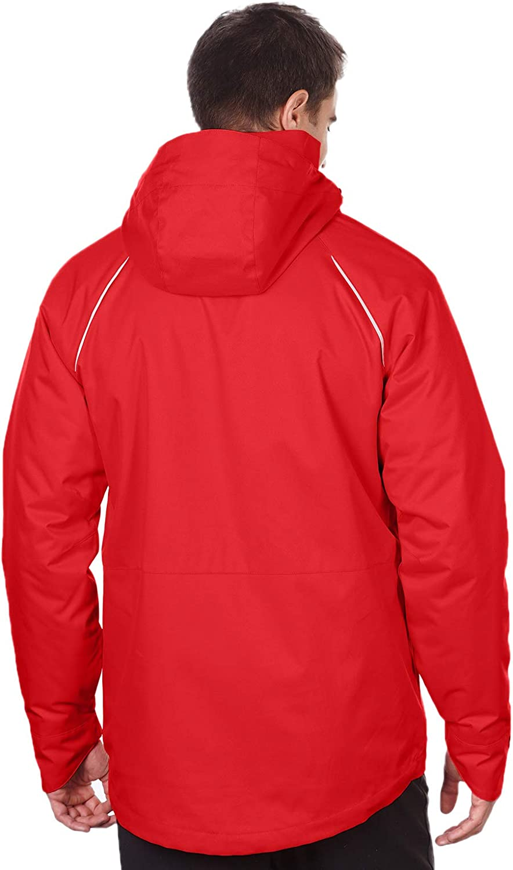 Tri-Mountain - Everett Heavyweight Polyester/Fleece Hooded Parka (Small-4XL)