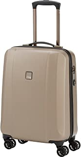 """TITAN Xenon Deluxe Pc 21"""" Carry on Spinner Luggage, Champagne (Beige) - 816406-CHM"""