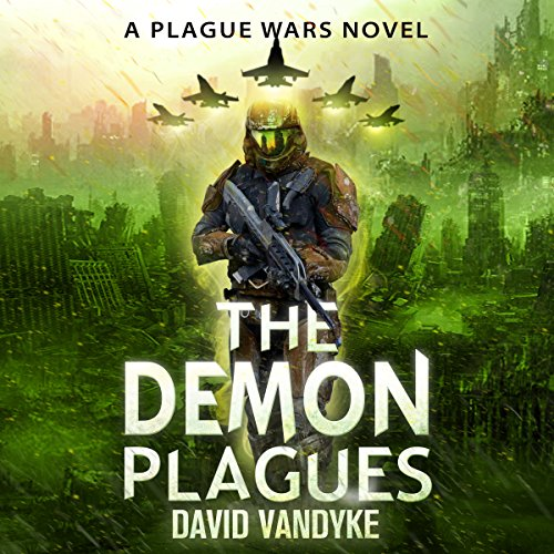 The Demon Plagues audiobook cover art
