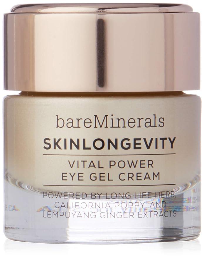 不道徳どう?あごひげベアミネラル Skinlongevity Vital Power Eye Gel Cream -並行輸入品