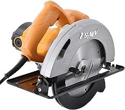 7 pulgadas eléctricos sierras circulares, 220V / 50Hz Grado Industrial Sierras 1100W Máquina de corte eléctrico herramientas para trabajar la madera