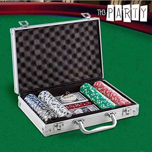 Valigetta di 200 fiches da poker Production-Set per Roulette