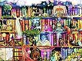 Kits de Bricolaje de Pintura de Diamante 5D, Niña de estantería Pintura al oleo por numeros, bordado diamond Painting de imitación, decoración de pared del hogar (40 x 50 cm)