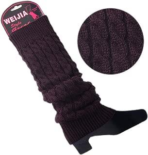 TOBEEY Scaldamuscoli da donna con bottoni Decor Ghette Calzini per stivali Polsini per stivali lavorati alluncinetto