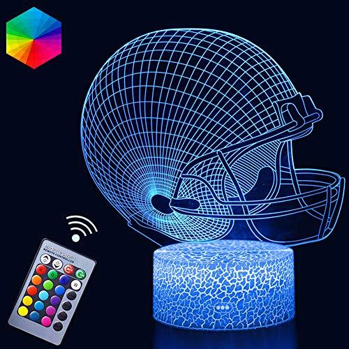 Holographic Football Helmet Light