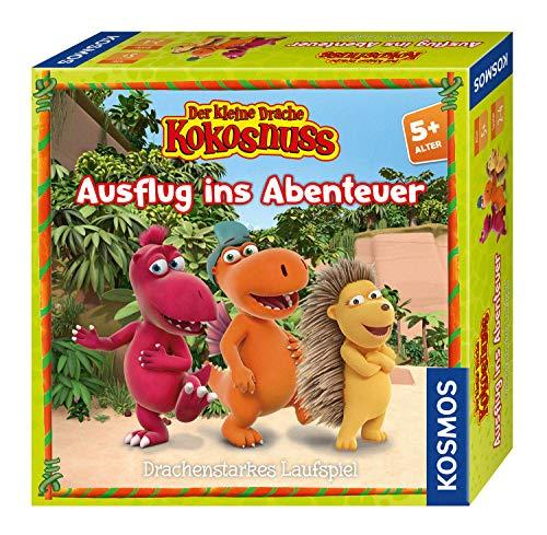 KOSMOS 697938 Der kleine Drache Kokosnuss - Ausflug ins Abenteuer, Kinderspiel