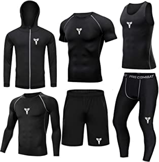 Men's Thermal Underwear Set Sports Fitness Clothing Workout Training Running Tracksuits Winter Gear Compression Suits Comp...