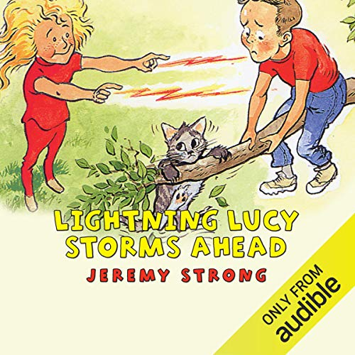 Lightning Lucy Storms Ahead cover art