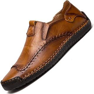 Scarpe Casual da Uomo Mocassini in Pelle Loafers Scarpe da Guida Scarpe da Passeggio Moda Mocassino Basse Comfort Classic ...