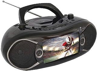 "Naxa NDL-257 7"" TFT LCD Display DVD Player TV Tuner Radio Black"