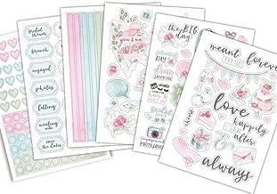 PurpleTrail Sticker Sets, Wedding Watercolor, Wedding Stickers, Wedding Planner Stickers