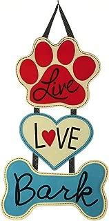 Live Love Bark Door Hanger