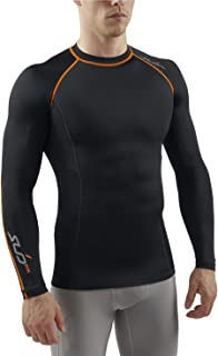 Sub Sports Mens Graduated Compression Long Sleeve Top Vest Running Recovery