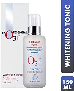 O3+ Whitening Tonic for Smoother Younger Facial Skin, 150 ml