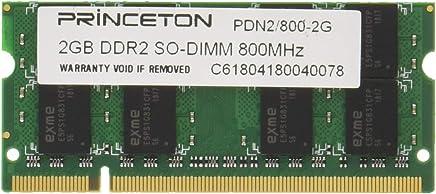 プリンストン APPLE ノート用メモリ 2GB PC2-6400 200pin DDR2-SDRAM SO-DIMM PAN2/800-2G