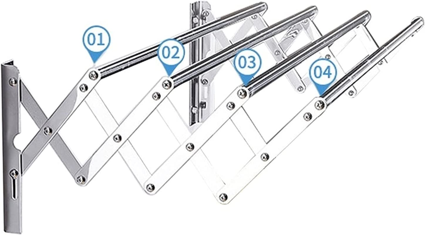 GXFWJD Bathroom Drying Rack Clothing Sale special price Stainless Wall Mount Steel Ranking TOP3
