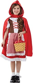 Best girls fairytale red riding hood costume Reviews