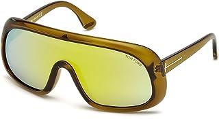 36da9423e8 Gafas de sol Tom Ford FT0471 C00 96G (shiny dark green / brown mirror)