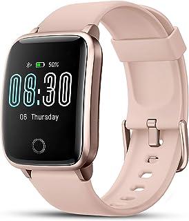 LIFEBEE Smartwatch, Reloj Inteligente Impermeable IP68 con Monitor de Sueño Pulsómetros Cronómetros Contador de Caloría, P...
