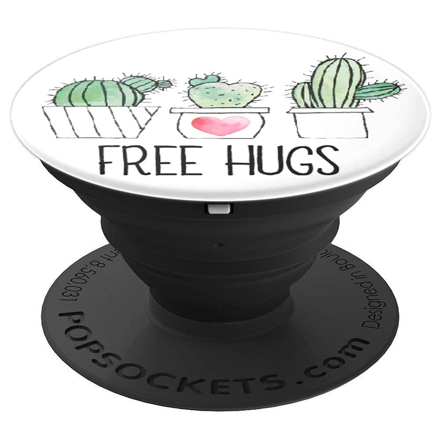Free Hugs Succulent Cactus - PopSockets Grip and Stand for Phones and Tablets